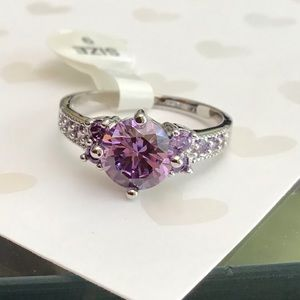 Jewelry - 10KT WG filled Amethyst Ring